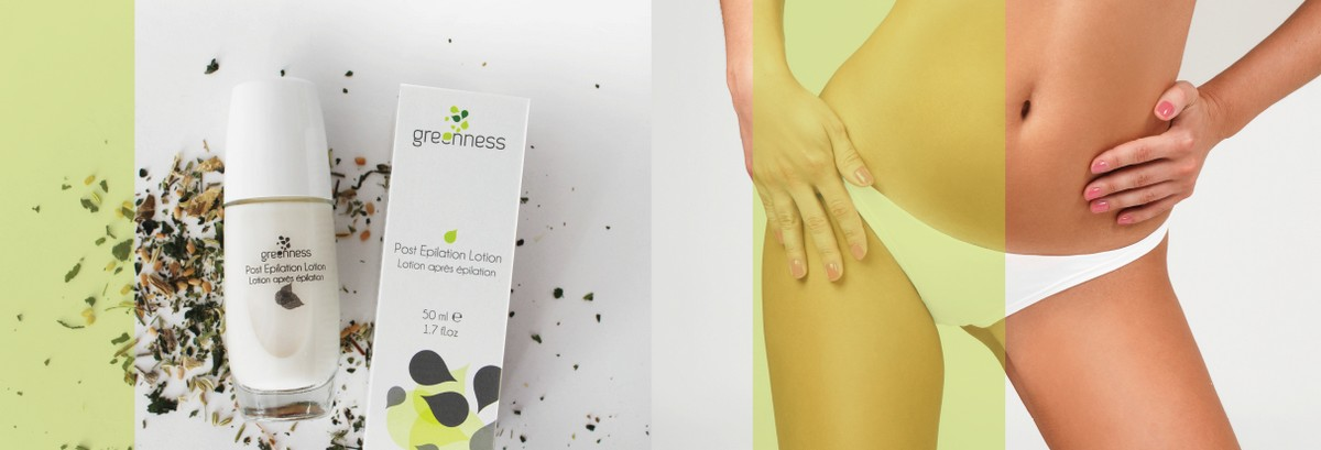 greenness post epilation effect