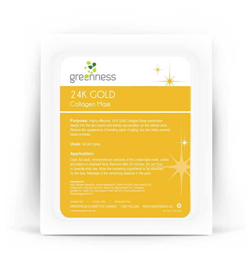 24K Gold Collagen Mask