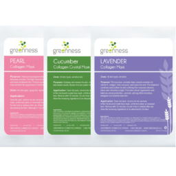 Pack of 3 Collagen Masks