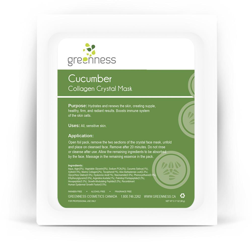 Cucumber Collagen Crystal Mask