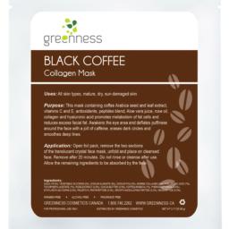Black Coffee Collagen Mask