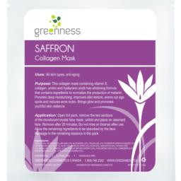 Saffron Collagen Mask