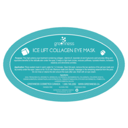 Ice Lift Hydr. Collag. Eye:Pack of 20(+5 extra)