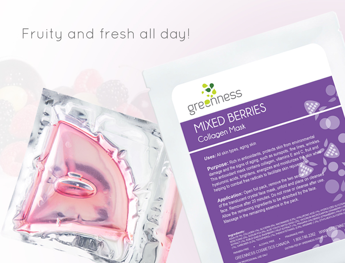 Mixed Berries Collagen Mask